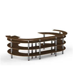 MODULAR BUFFET OPEN C STATION 3420X2140X1055MM