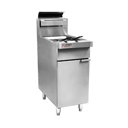 DEEP FRYER GAS OPEN POT 400MM RCF4-NG 400X803X1082MM