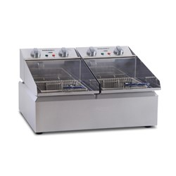 FRYPOD FRYER DOUBLE PAN 2 X 5LT 570X480X335MM