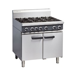 OVEN RANGE GAS 6 BURNER CR9D 900X800X1085MM