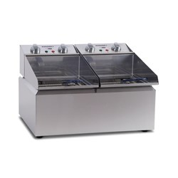 FRYPOD FRYER DOUBLE PAN 2 X 8LT 570X480X385MM