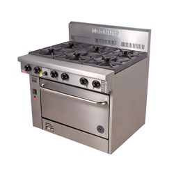 RANGE 4 BURNER PF420 610X800X1120MM