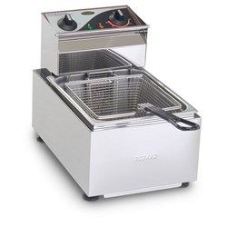BENCH FRYER F15 5LT 10A 1 BASKET 10A 430X360X340MM