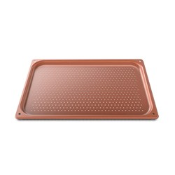 BAKING TRAY SIL COATED PERF TG975