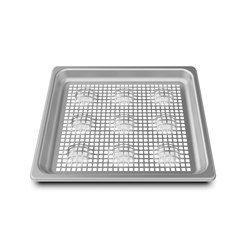 STEAM & FRY TRAY  S/S PERF GRP710