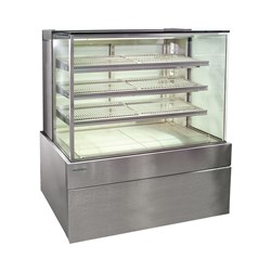 DISPLAY CABINET HOT SQUARE 900X730X1358MM