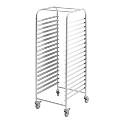 TROLLEY MOBILE RACK S/S 377X570X1650MM