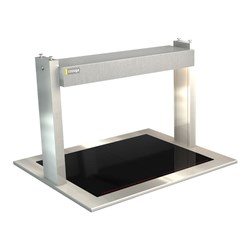 CERAMIC HEATED GLASS W/GANTRY LSCM2 805X690X555MM