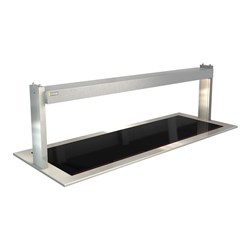 CERAMIC HEATED GLASS W/GANTRY LSCM5 1825X690X555MM