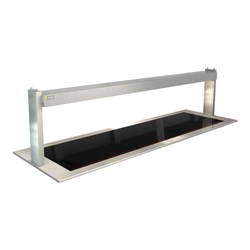 CERAMIC HEATED GLASS W/GANTRY LSCM6 2165X690X555MM