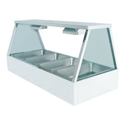 HOT FOOD DISPLAY 3 MODULE 10A SELF SERVE 1030X600X725MM