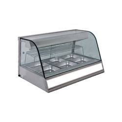 HOT FOOD DISPLAY 3 MODULE 10A CHICKEN 1120X795X660MM