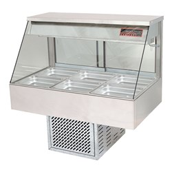 COLD FOOD DISPLAY 3 MODULE 10A STRAIGHT 1030X600X690MM