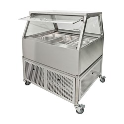 COLD FOOD DISPLAY 3 MODULE 10A SELF SERVE 1070X800X1200MM