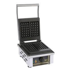 WAFFLE IRON 2 PER SERVE 305X440X230MM