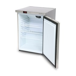 FRIDGE U/C 1DR SOLID 138LT UBC0140SD S/S 598X643X824MM