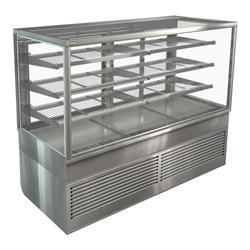 DISPLAY CABINET COLD FREESTAND BTGRF18 1800X750X1380MM