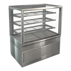 DISPLAY CABINET HOT FREESTAND BTGHT12 1200X750X1380MM