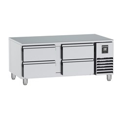FRIDGE UNDER BROILER 4 DRAWER HUBC411 S/S 1345X780X625MM