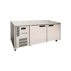 FRIDGE UNDERCOUNTER 2 DOORS S/S 1816X773X845MM