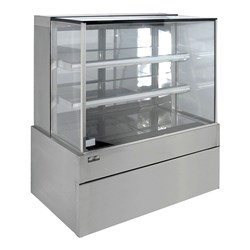 DISPLAY CABINET COLD SQUARE 900X730X1358MM