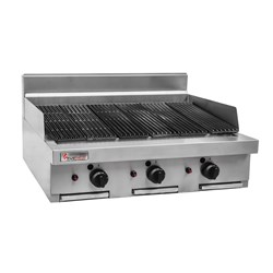 BBQ GAS INFRARED 900MM RCB9-NG 900X803X445MM
