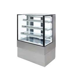 DISPLAY CABINET AMBIENT SQUARE AXA.FDFSSQ.09 870X688X1350MM