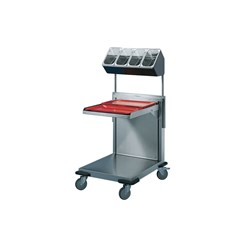 PLATFORM DISPENSER ADJ HEIGHT PO-SV2/1 690X730X911MM