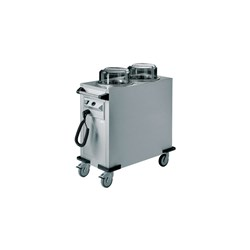 PLATE DISPENSER HEATED MOBILE RRV-H2-190-320 480X955X900MM