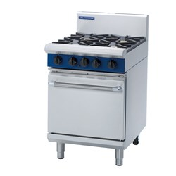 OVEN RANGE STATIC 4 BURNER GAS 600X812X1085MM