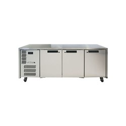 FRIDGE UNDERCOUNTER 3 DOORS S/S 1885X650X845MM
