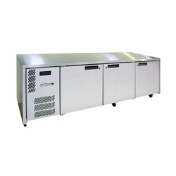 FRIDGE UNDERCOUNTER 3 DOORS S/S 2476X773X845MM