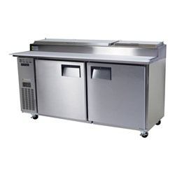 PREP FRIDGE PIZZA 2 DOOR 597L CENTAUR BC180-P-2RROS-E