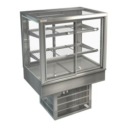 DISPLAY CABINET COLD C/TOP STGRF9 900X650X920MM