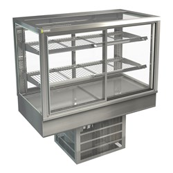 DISPLAY CABINET COLD C/TOP STGRF12 1200X650X920MM