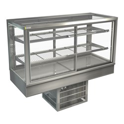 DISPLAY CABINET COLD C/TOP STGRF15 1500X650X920MM