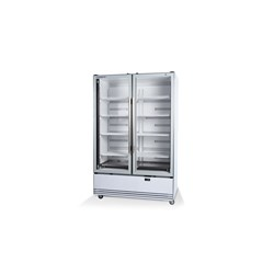 CHILLER VERTICAL 2 GLASS DOORS BME1200-A  ACTIVE CORE BTM MNT