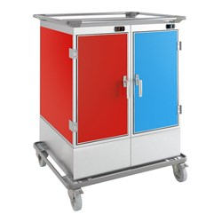 TROLLEY CHILLED /HEATED KF240R 16X1/1GN 920X750X1275MM