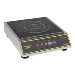 INDUCTION COOKTOP CHOCOLATE 315X380X102MM