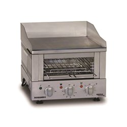 GRIDDLE TOASTER GT400 15AMP 425X500X375MM S/S DUAL ELEMENT