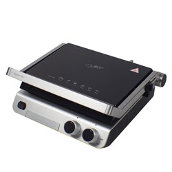 DELUXE SANDWICH PRESS CONTACT GRILL WITH TIMER