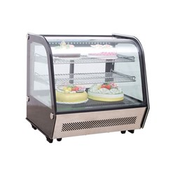 COLD FOOD BAR 160LT CURVED GLASS 1040160