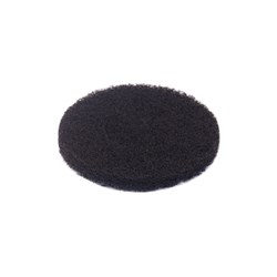 SCRUBBER STRIPPING PAD 20CM BLK (5)