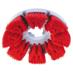SCRUBBER MED CLEANING BRUSH RED