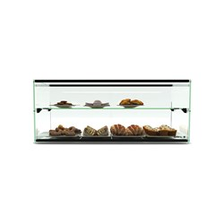 DISPLAY CABINET 2 TIER AMBIENT ADS0036