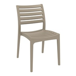 ARES CHAIR TAUPE 450MM HIGH