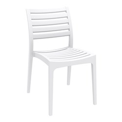 ARES CHAIR WHT 450MM HIGH