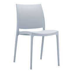 MAYA CHAIR SILVER GREY
