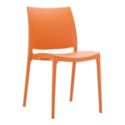 MAYA CHAIR ORANGE