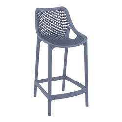 AIR BAR STOOL 65 ANTHRACITE 650MM HIGH